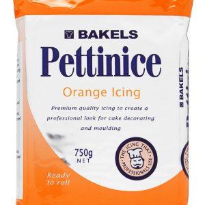 orange fondant