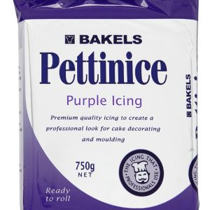 purple fondant