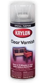 krylon clear varnish