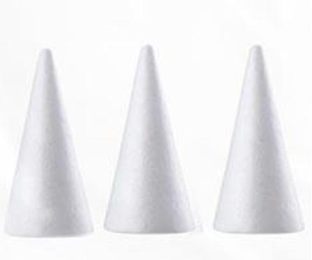 Polystyrene Cones