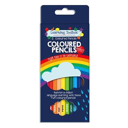 Te Reo Colour Pencils 12pc