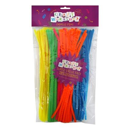 Neon pipecleaners