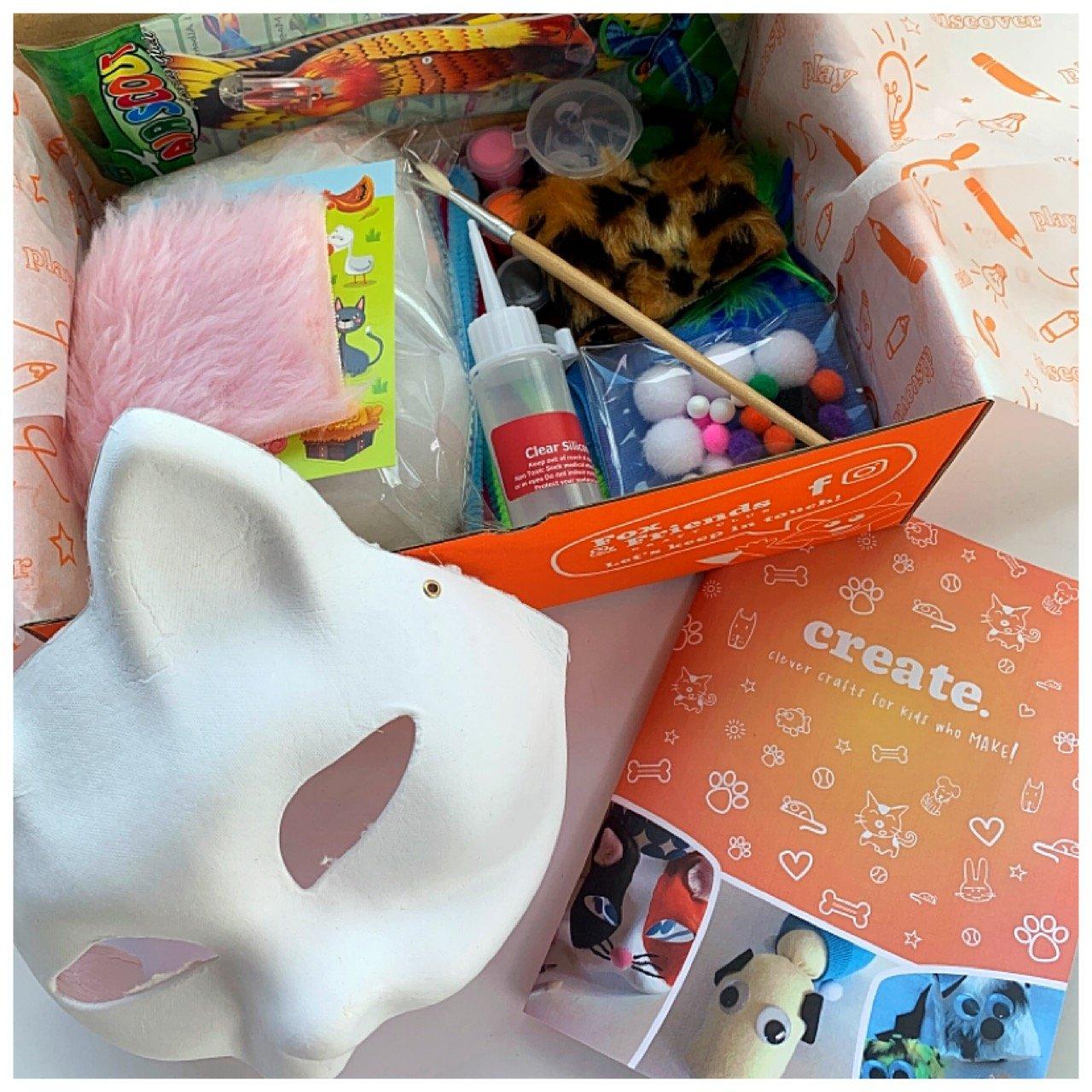 Creative and imaginative craft kits for kids