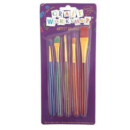 kids paint brush set