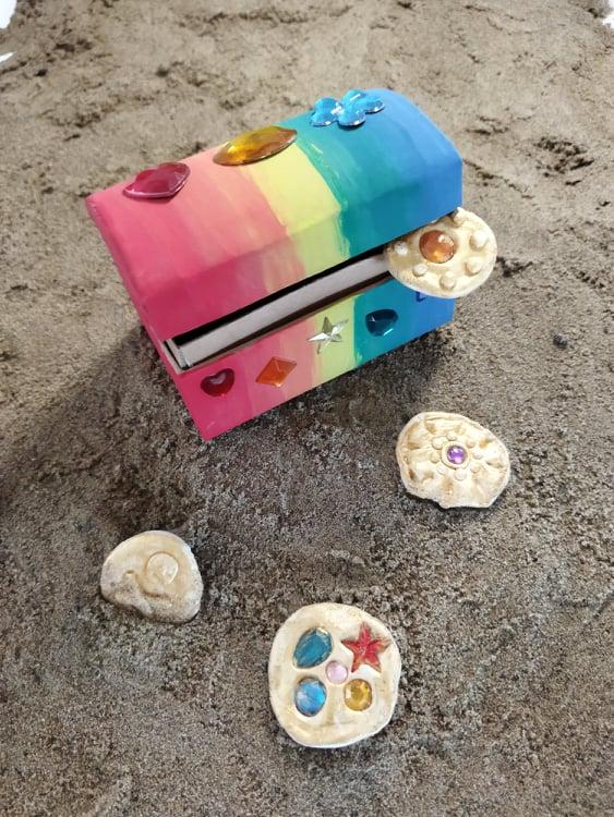 pirate treasure chest craft