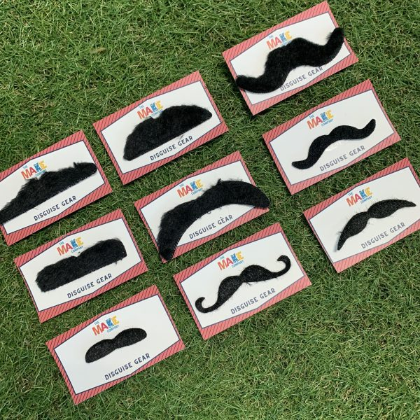 mustache cards for kids