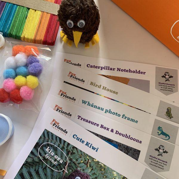 kiwi treasure instructions